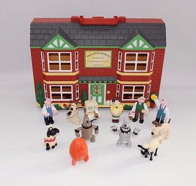 Wallace & gromit Wash n go 12 figures Playset Film characters Nick Park 89 B54