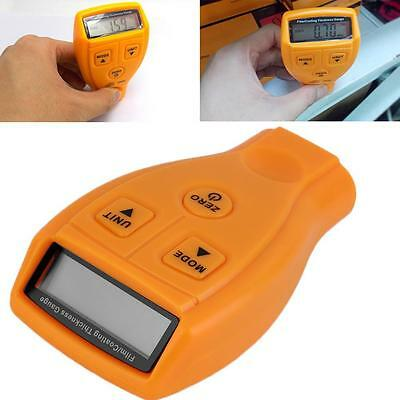LCD Digital AAA Car Paint Coating Thickness Gauge Automotive Tester Meter Tool