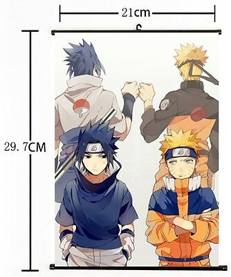 Hot Japan Anime NARUTO Home Decor Cosplay Wall Scroll Poster 21*30CM 03