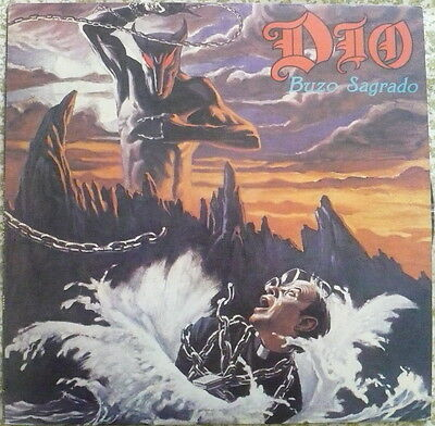 DIO Holy Diver LP HEAVY METAL from ARGENTINA