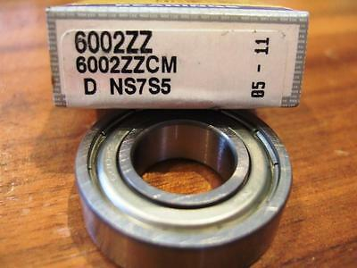 NSK Deep Groove Ball Bearing 6002ZZ 6002 ZZ 15mm I.D, 32mm O.D  New High Quality