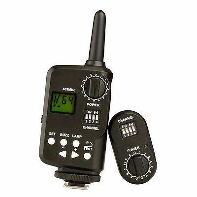 Neewer Wireless Power Control Flash Trigger FT-16 two mode power ratio display