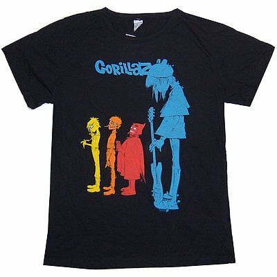 "Gorillaz ""rock The House"" Girls Juniors T Shirt 3Xl Xxxl New Official"