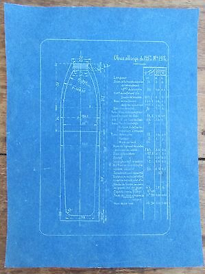Ancien Plan Forges Montlucon Blindages Presses Obus 155 Saint Jacques 1914