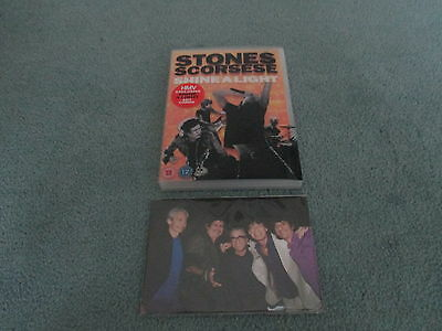 Rolling Stones Shine A Light Dvd Exclusive Hmv Edition With Art Cards Scorsese
