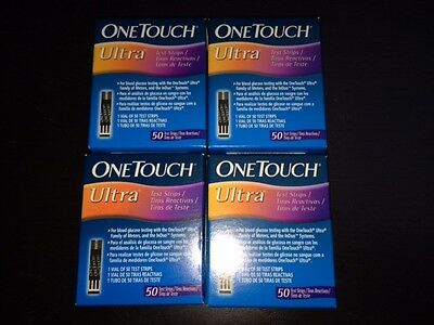 One Touch Ultra 200 Blood Glucose Test Strips (FREE P&P)