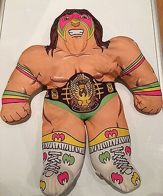 WWF Ultimate Warrior Tonka Wrestling Buddy. 80s/90s Rare**