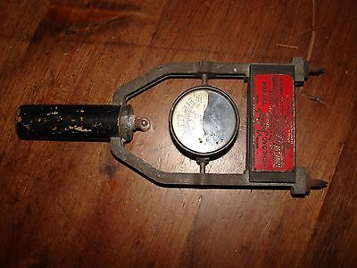 Vintage Car Battery Tester Highload Tester Triangle