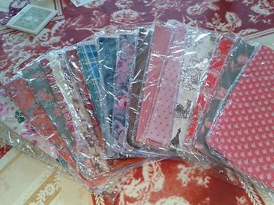 Mixed pack of decopatch papers