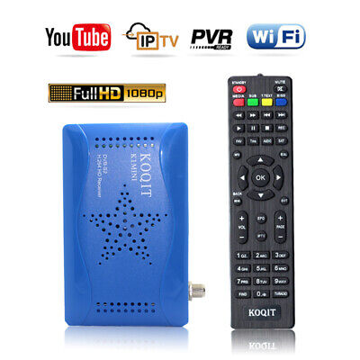 DVB-S2 AC-3 Digital Satellite Receiver Youtube weather Support WIFI Key Decoder