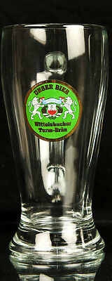 Rare Vintage German Beer Glass Unser Bier, Wittelsbacher Turn-Brau