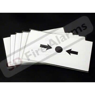 5 X KAC Fire Alarm Call Point Break Glass - Replacement Glass Pack KG1 FREE P&P