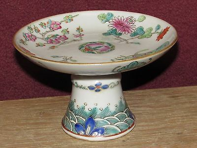 Antique Chinese Porcelain Footed Dish