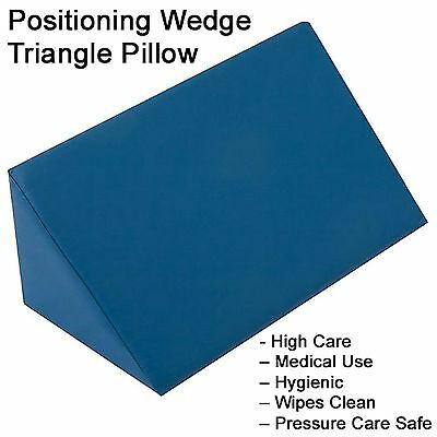 MediSkin+ Positioning Wedge Triangle Pillow Cushion memory foam relief support
