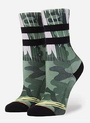 Nwt Stance Can't See Me Socks Girls  Size Youth Medium (11 -1) New