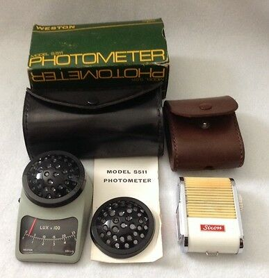 Vintage Weston Photometer Model S511plus A Sixon Colour Finder