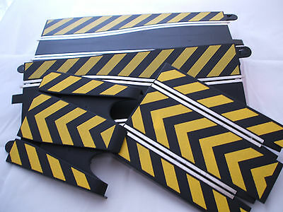 Scalextric C8522 Action Track Pack - Side Swipe Chicanes & Flying Leap Ramps