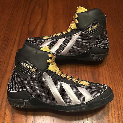 Adidas John Smith Mat Wizard 2 Wrestling Shoes - Size 8 (Fit 9)