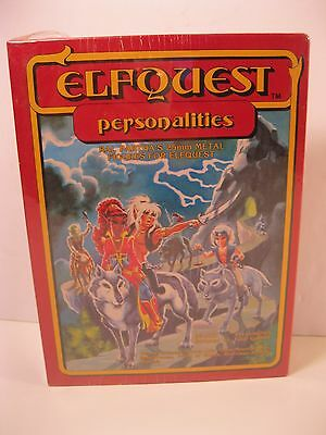 Elfquest Personalities Metal Figures Role Playing Game Ral Partha 1982 Sealed