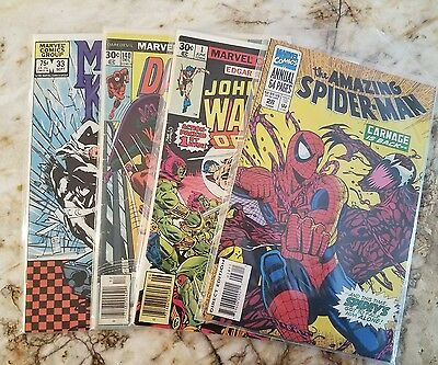 20 Marvel Comic Book Lot 1970- 2007 Captain America 1 Spider-Man 1 Thor 1