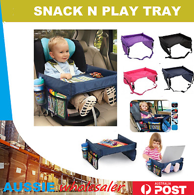 Baby Safety Travel Tray Table Kids Car Seat Snack Play Portable Tale puchchair