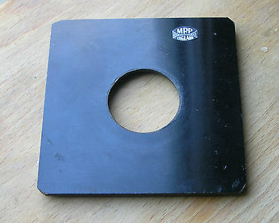 MPP mk8 VIII fit  lens board panel with copal compur 0 hole 34.4mm