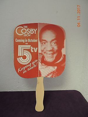 Vintage The Cosby Show Advertising Fan - Coming in October on Channel 5