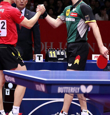 German table tennis team Shirt (Colour: Red/Black/Green/Grey), UK