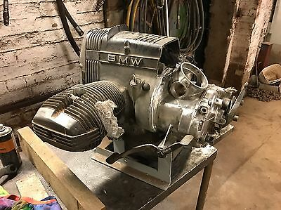 Bmw R80 Engine With Dnepr Gearbox With Reverse. Ural, Neval, Cossack