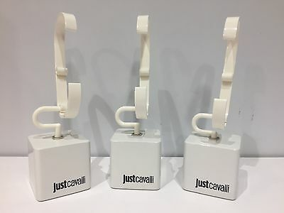 3x Support JUST CAVALLI - 3x Taco Display Exposant - For Watches Relojes - White