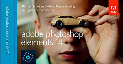 Adobe Photoshop Elements 14 Full Version - For Windows - Official Download & Key