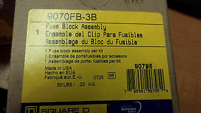 Square D 9070Fb-3B New In Box Fuse Block Assembly See Pics #a43