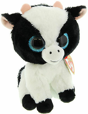 "TY Beanie Boo 6"" Plush - Butter The Cow - Brand New"
