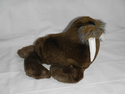 SEA WORLD 12in. WALRUS STUFFED ANIMAL PLUSH TOY MARINE WILDLIFE DECOR