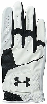 Under Armour UA Men's CoolSwitch Golf Glove - Black / White. Small.