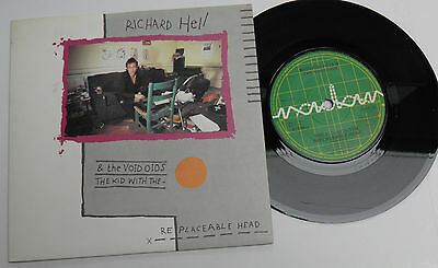 "Richard Hell & Voidoids-Kid With The Replaceable-UK Vinyl 7""-Punk Wave-'79-HEAR"