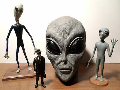 "Grey Alien Ufo/roswell Collectibles!!!  ""they're Here Already!"""