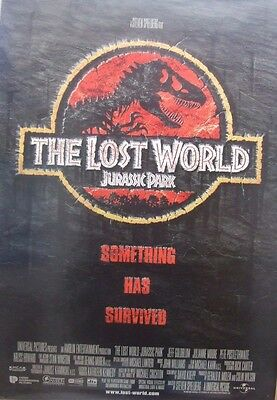 JURASSIC PARK  THE LOST WORLD(1997) Original rolled US one sheet movie poster