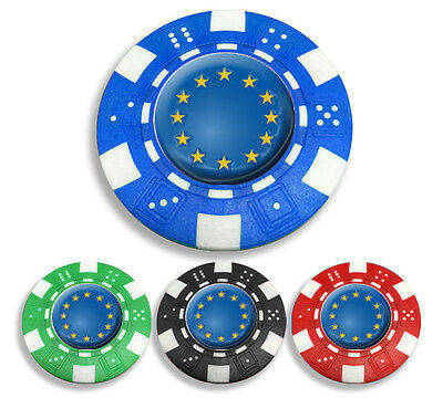 Europa Poker Chip Golf Ball Marker