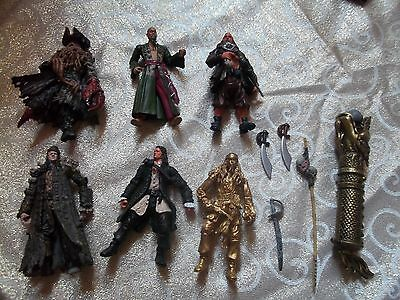 Pirates Of The Carribean  Collection Of Figures With Accessories