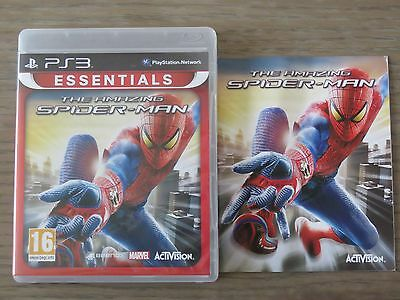 Jeu Playstation 3 Ps3  The Amazing Spider-Man  Complet