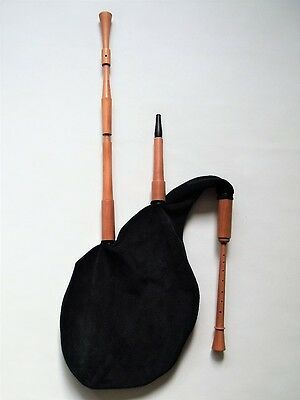Hümmelchen (German Smallpipes) / new / made by Bagpipe Maker T. Sonoda, Germany
