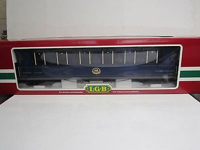 LGB G #31655 Orient Express Salon Passenger Car - Lighted with Interior