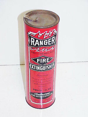 Full Can Ranger Dry Chemicals American Fire Extinguisher Co. Pre 1962 NOS