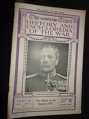 Times History  The War Wwi Magazine # 141 1St  May 1917 Battle Of The Somme (6)