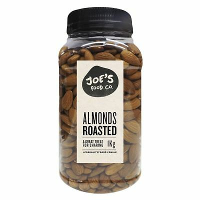J.C.'s Quality Foods Roasted Almonds 1kg