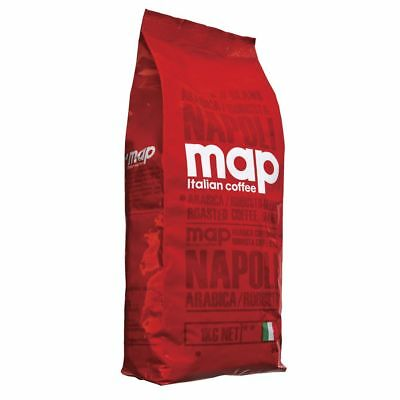 Map Napoli Blend Coffee Beans 1kg