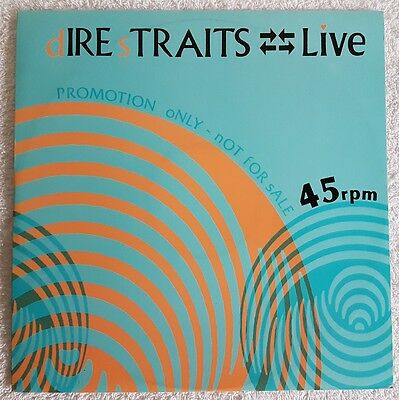 "Dsdj 112 Dire Straits Uk 4 Track Live 12"" Promo Only Nm Vinyl 1984"