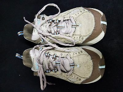 beb858bb91fe New Balance Rock   Tone 1645 Women s Size 5 1 2 Athletic Shoes Tan Gray