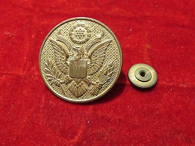 Ww 1 Us Army Military Cap Hat Enlisted Badge Insignia